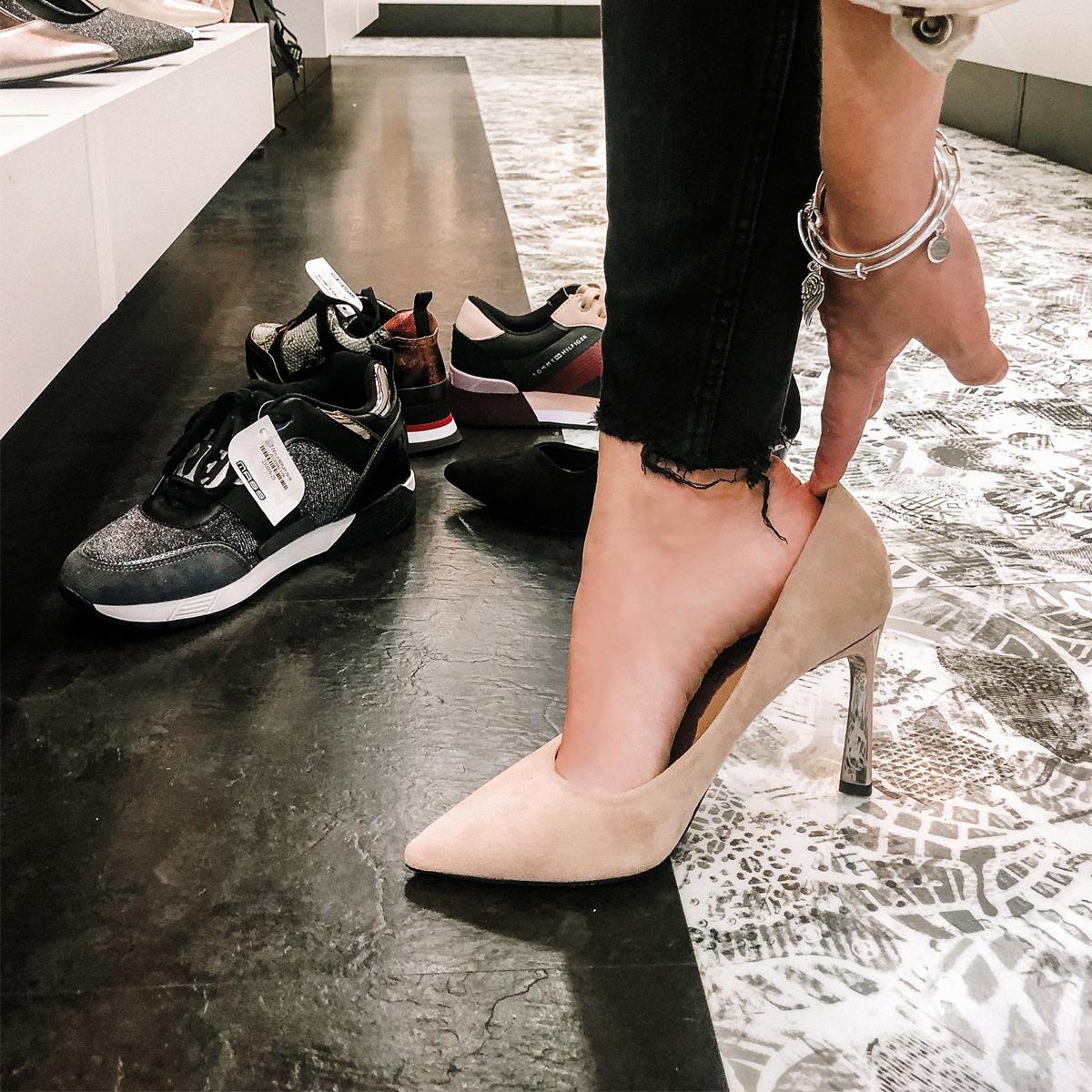 Petra: 5 pravila za isprobavanje cipela