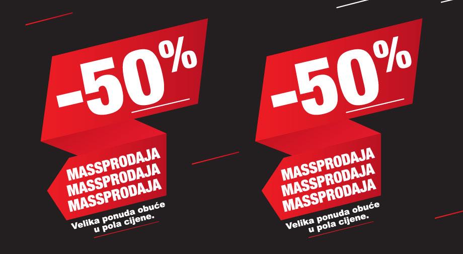 Mass akcija: MASSPRODAJA -50%