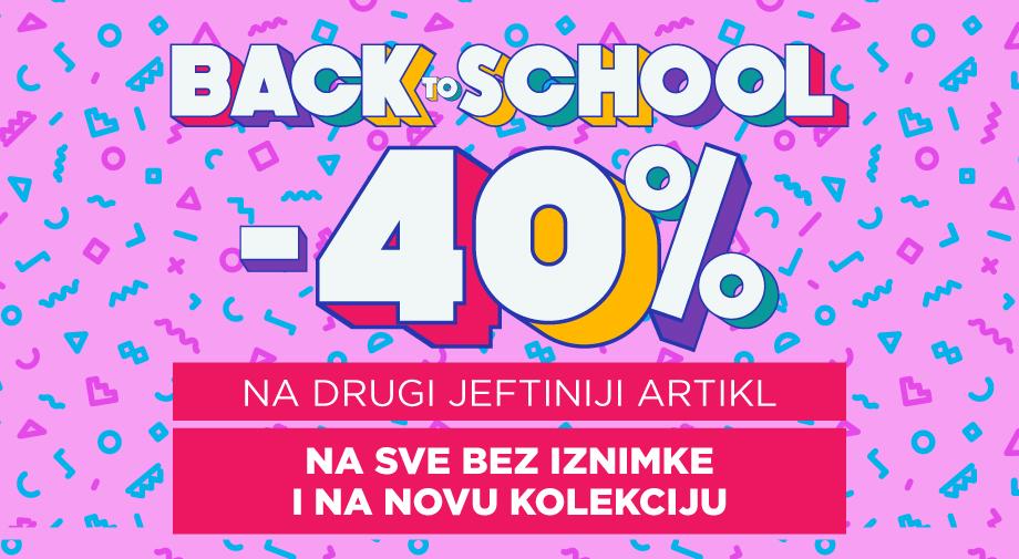 Akcija:  Back to School!