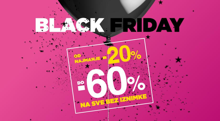 Ludi Black Friday popusti OD NAJMANJE -20% DO -60%!