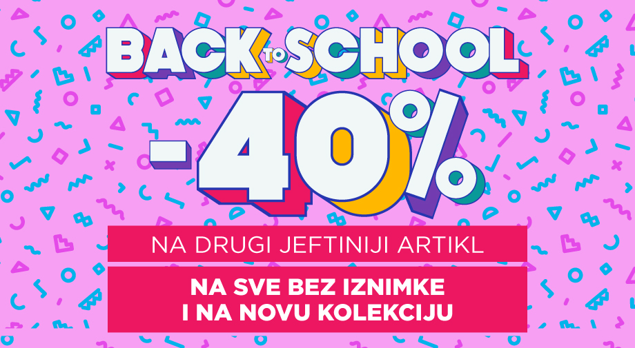 Akcija:  Back to School!