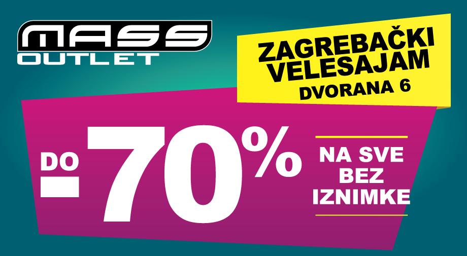 PRODUŽILI SMO OUTLET ZAGREB DO 27.9.!